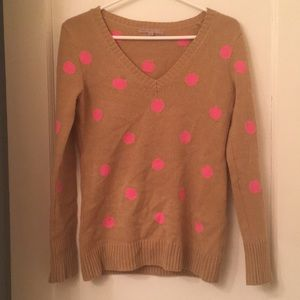 🔻🆕GAP V-neck Knit Polkadot Sweater